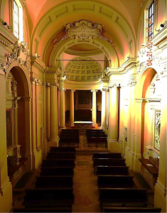 a view from the nave
