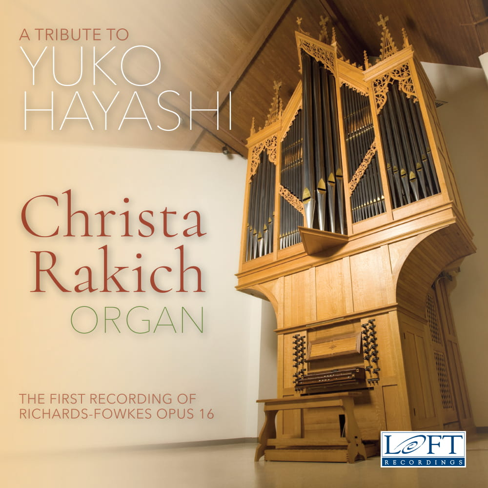 A CD cover featuring a large organ.